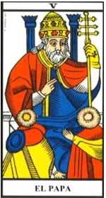 Los arcanos de tarot: El Sacerdote Tarot