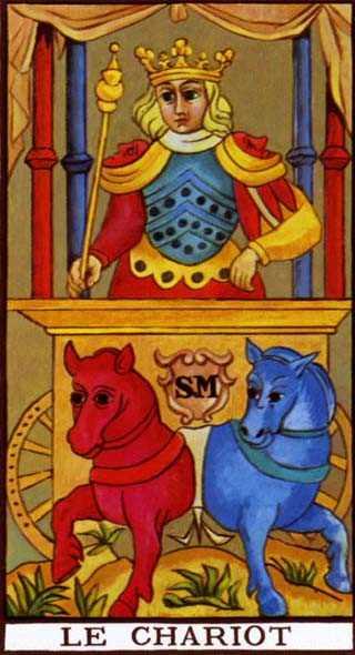 Los arcanos del tarot: El Carro Tarot