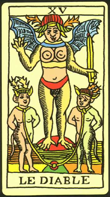 Los arcanos del tarot: El Diablo Tarot
