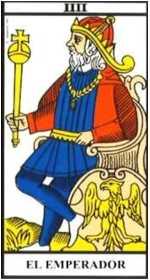 Los arcanos del tarot: El Emperador Tarot
