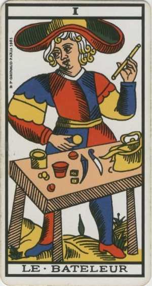Los arcanos del tarot: El Mago Tarot