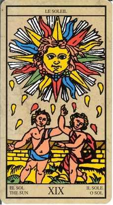 Los arcanos del tarot: El Sol Tarot