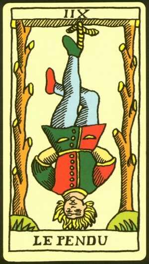 Los arcanos del tarot: El colgado Tarot
