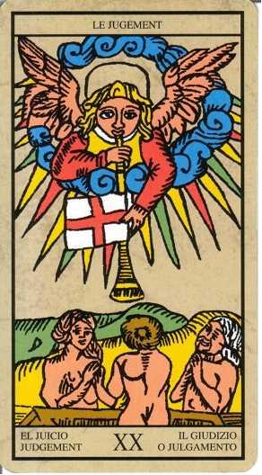 Los arcanos del tarot: El juicio Tarot
