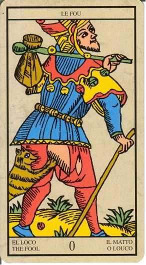 Los arcanos del tarot: El loco Tarot