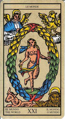 Los arcanos del tarot: El mundo Tarot