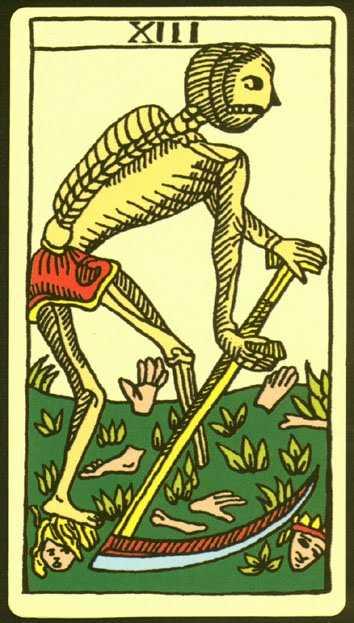 Los arcanos del tarot: La Muerte Tarot