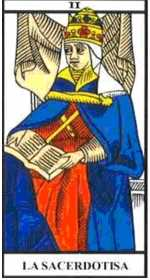 Los arcanos del tarot: La Sacerdotisa Tarot