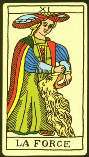 Los arcanos del tarot: La fuerza Tarot