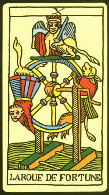 Los arcanos del tarot: La rueda de la fortuna Tarot