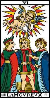 Los arcanos del tarot: Los Enamorados Tarot