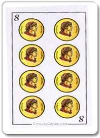 Los arcanos menores: El ocho Tarot