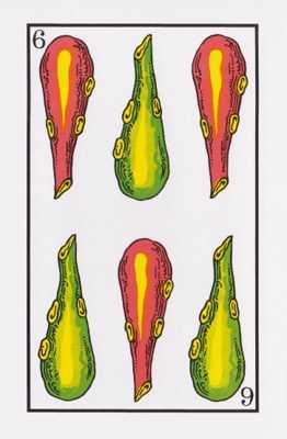 Los arcanos menores: El seis Tarot