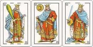 Los arcanos menores: Los Reyes Tarot