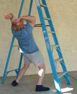 Pasar por debajo de una escalera Supersticiones