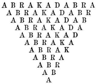 Que es Abracadabra Supersticiones
